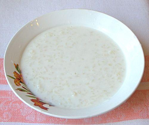 Как приготовить рисовую кашу одну порцию